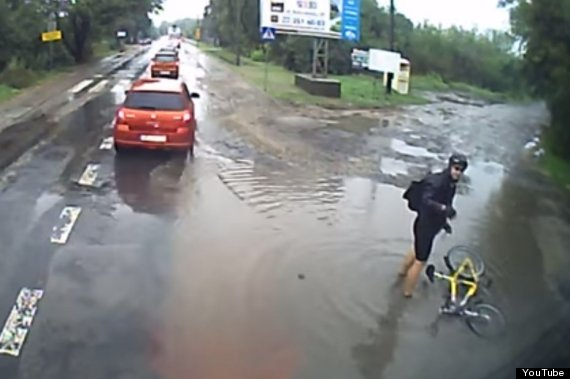 Cyclist Bad Day