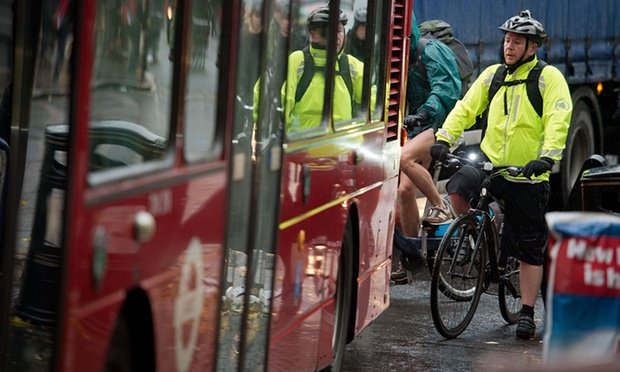 Cycling commuter