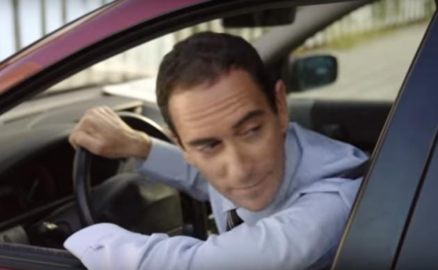 Spanish bike commute ad mocks drivers' daily grind