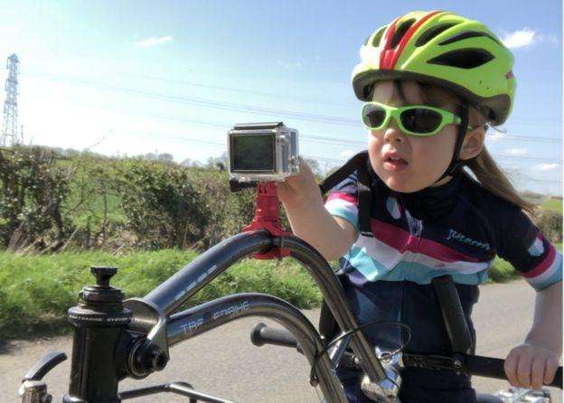 Rhoda cycling